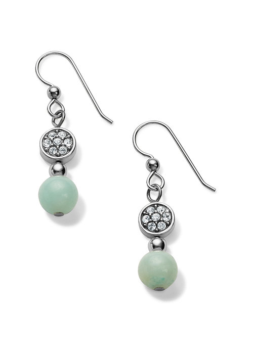 Brighton Meridian Silver-Light Blue Petite Prime French Wire Earrings