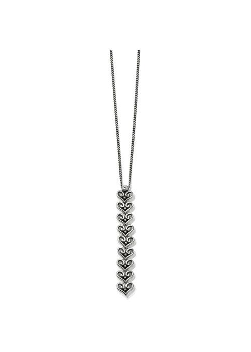 Brighton Alcazar Medley Drop Necklace Silver OS
