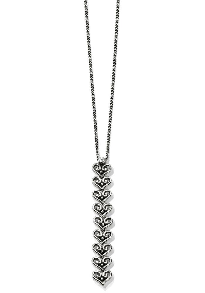 Alcazar Medley Drop Necklace Silver OS