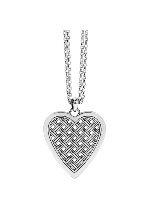 Brighton Love Cage Heart Convertible Necklace