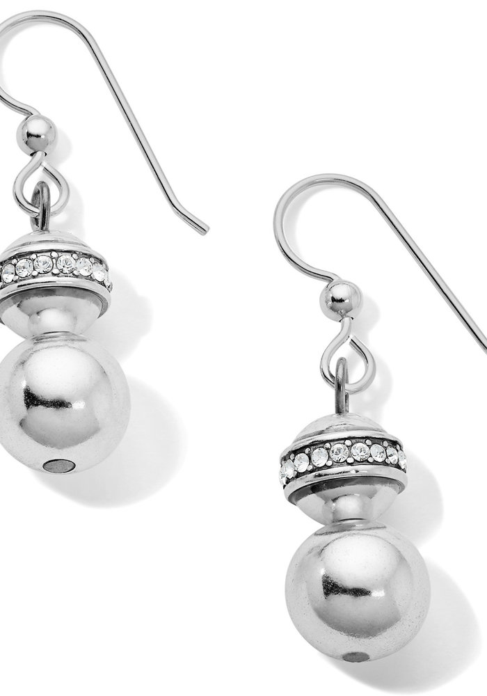 Meridian Petite Principle French Wire Earrings Silver OS