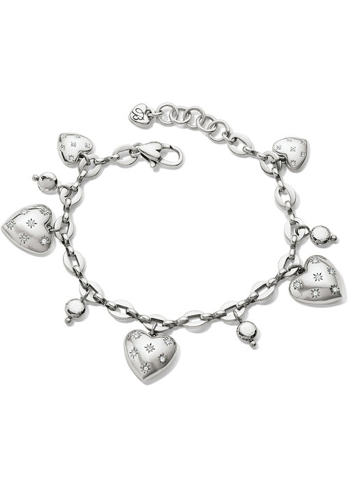 Brighton Stellar Heart Charm Bracelet