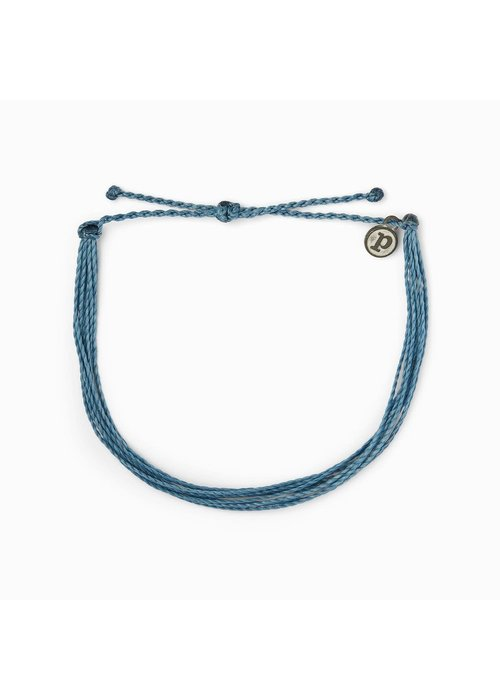 Pura Vida Original Anklet Dusty Blue