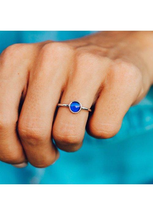 Pura Vida Silver Mood Ring
