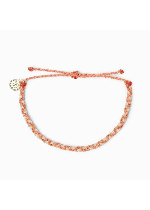 Pura Vida Mini Braided Bracelet Warm Shoreline