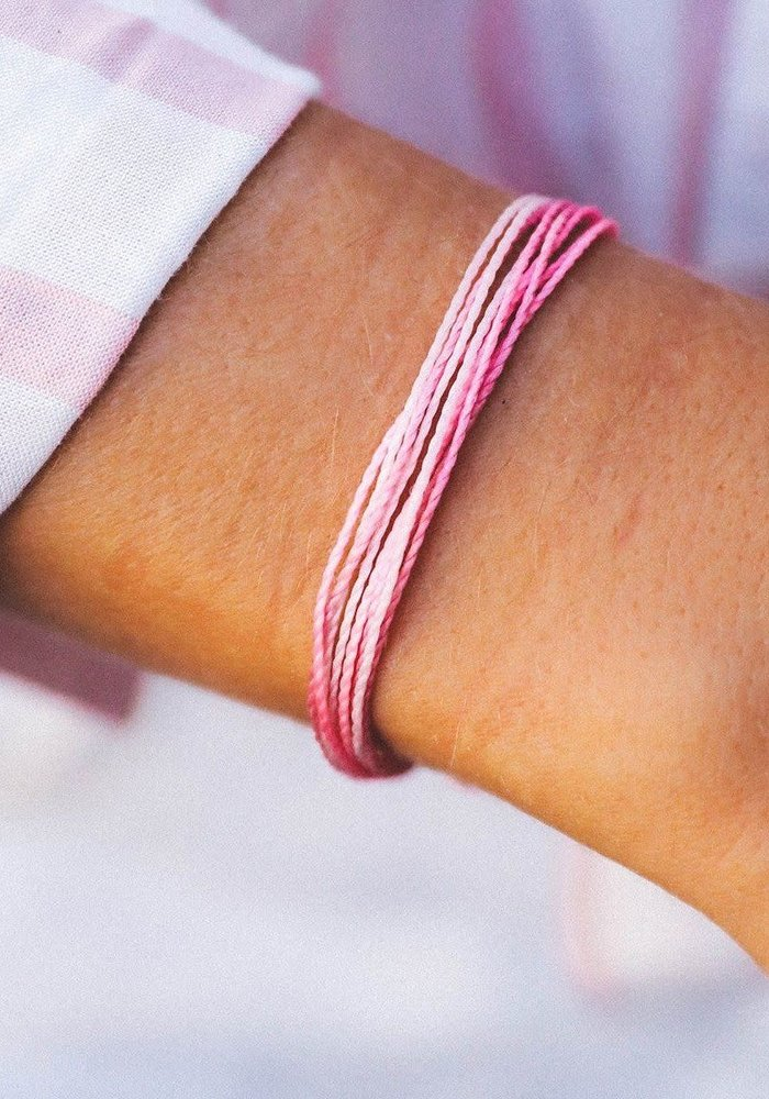 Boarding 4 Breast Cancer Charity Bracelet