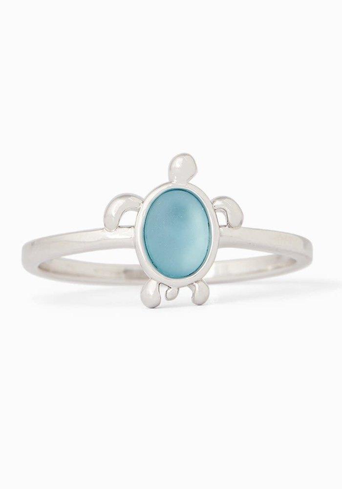 Sea Turtle Stone Ring