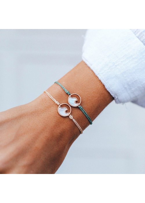 Pura Vida Stone Wave Braided Bracelet