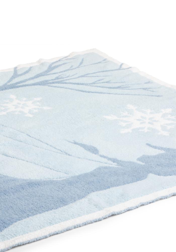 CozyChic Frozen Disney Blanket Ice Blue