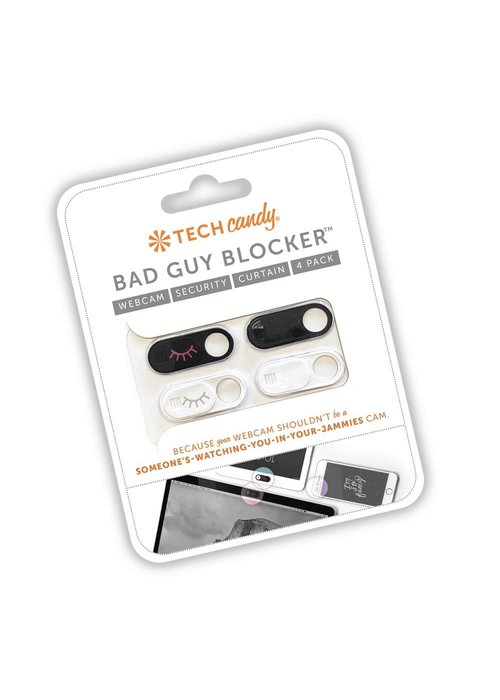 Tech Candy Bad Guy Blocker WebCam Protection 4-Pack