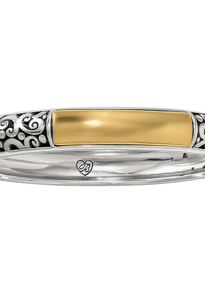 Catania Hinged Bangle silver