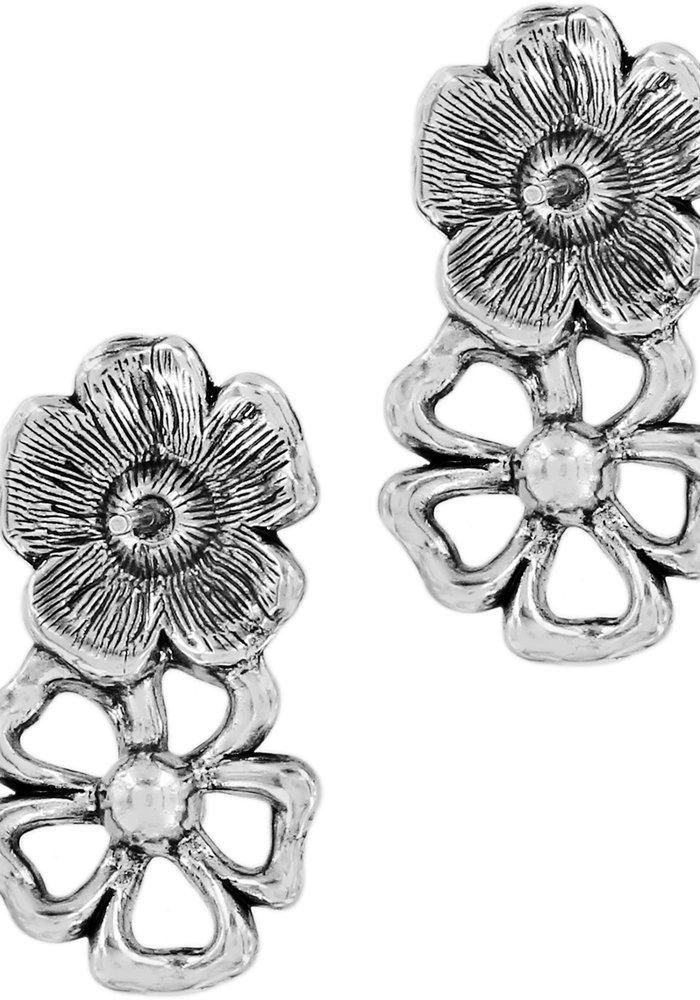 Lux Garden Post Drop Earrings