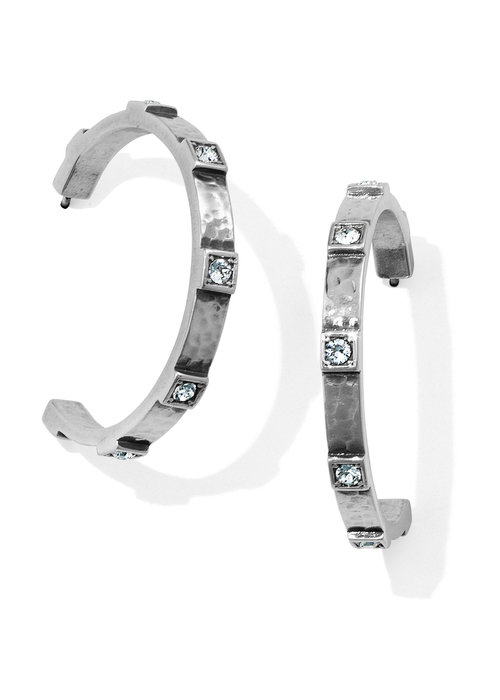 Brighton Meridian Zenith Station Hoop Earrings
