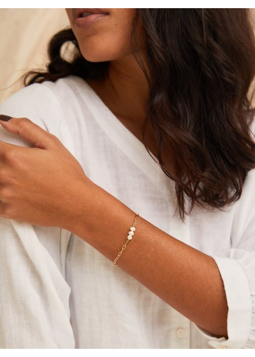 ABLE Pearl Strength Bracelet