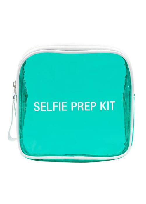 Selfie Prep Kit Vinyl Cosmetic Bag