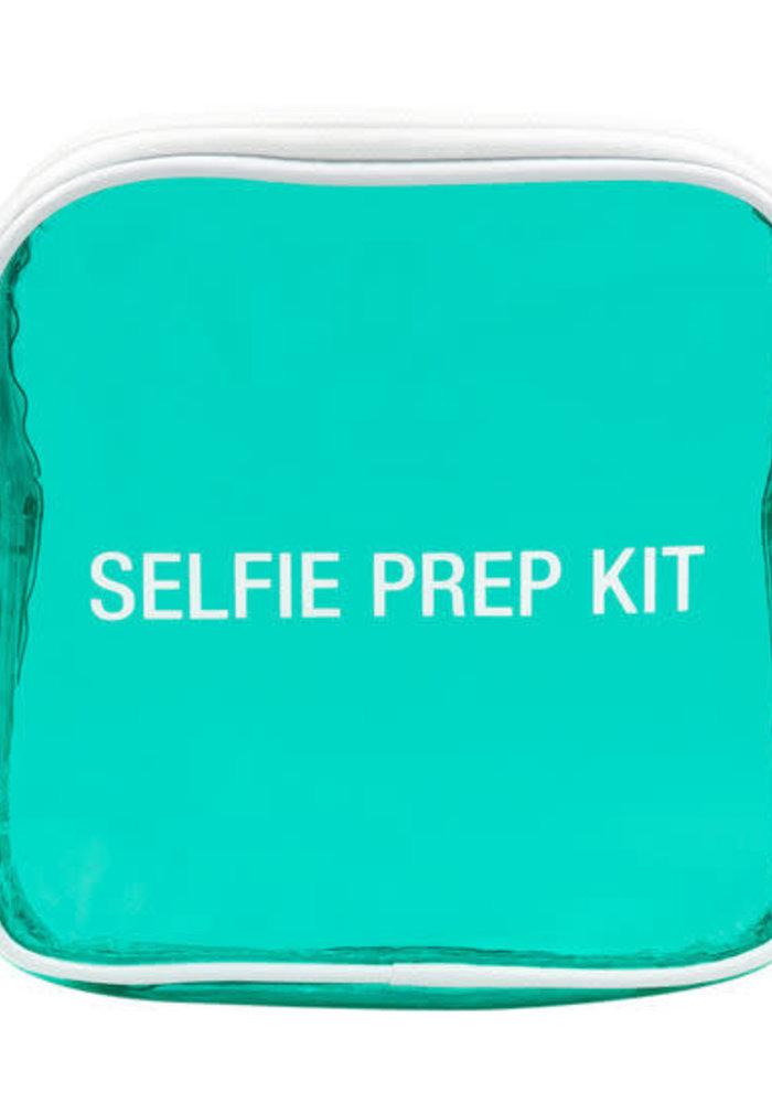 Selfie Prep Kit Vinyl Cosmetic Bag