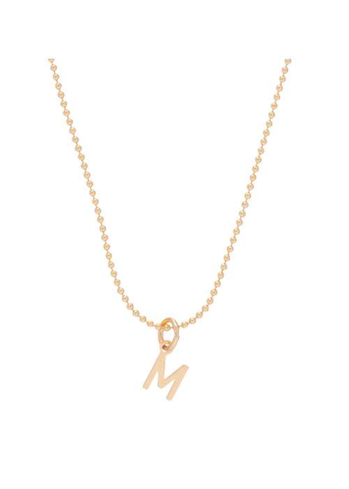 Enewton Gold Respect Initial Gold Charm Necklace