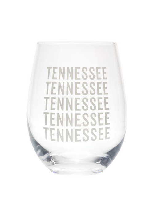 TENNESSEE 16oz Wine Glass