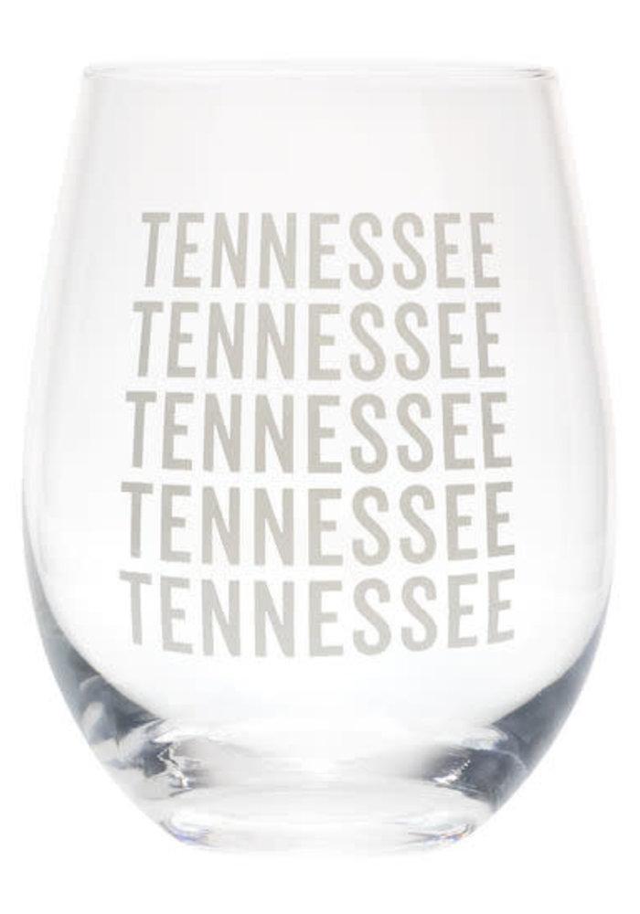 TENNESSEE 16oz Wine Glass