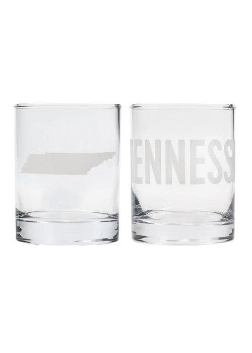 TN Rocks Glass Set