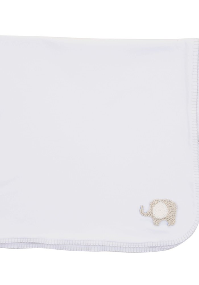 Sweet French Knot Baby Blanket