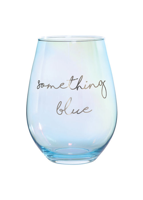 Something Blue 30oz Stemless Wine Glass