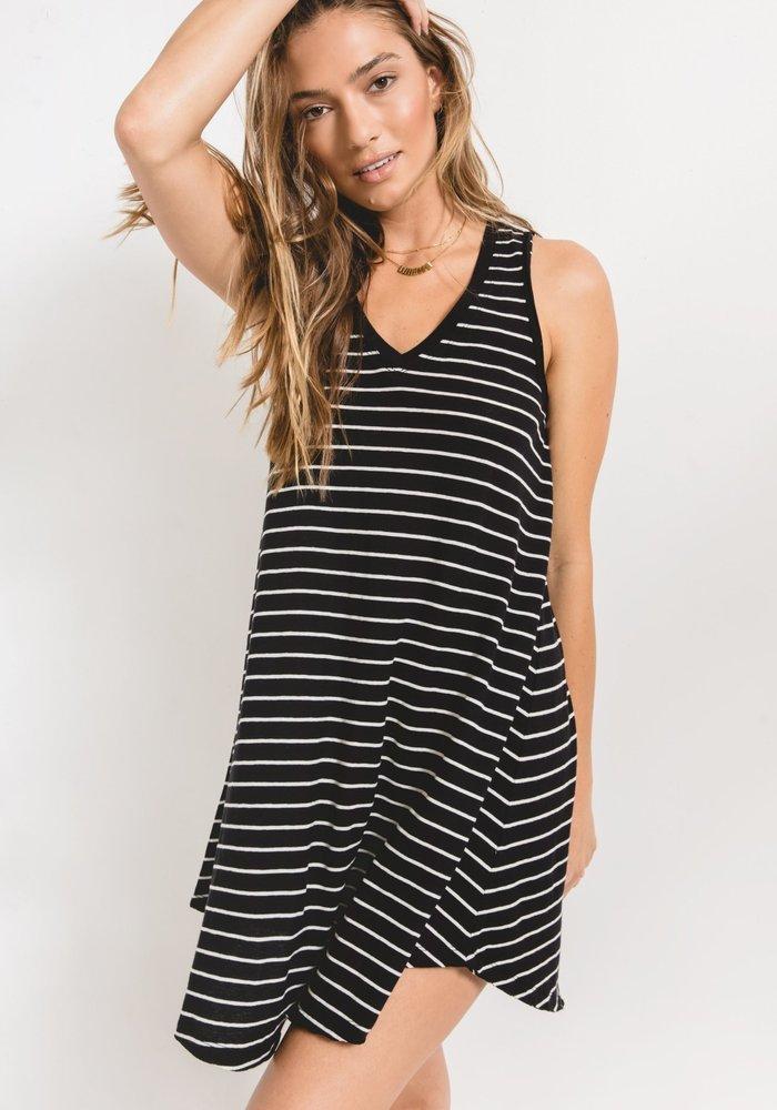 The Yuma Stripe Linen Breezy Dress