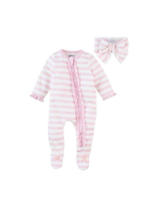 Mudpie Stripe Sleeper Set