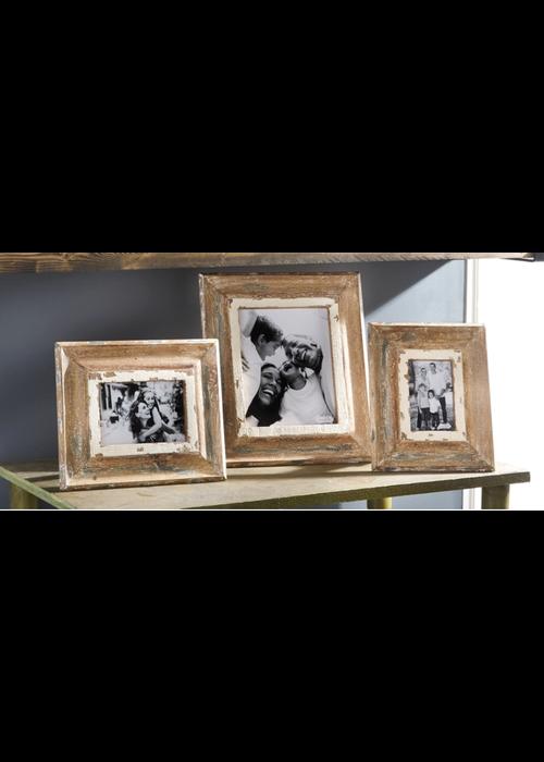 Mudpie Weathered Wood Frame