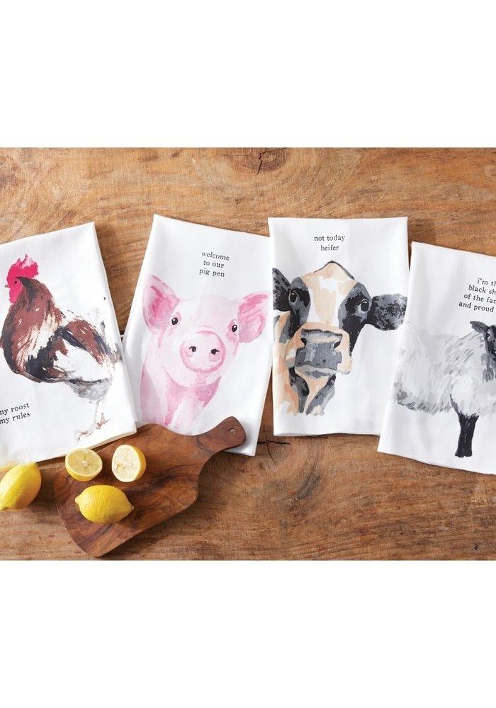 Farm Animal Tea Towels