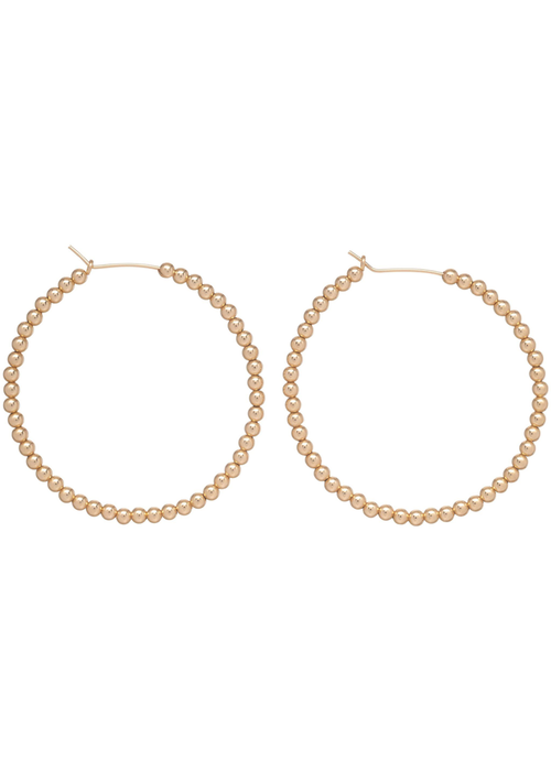 Enewton Beaded Gold Hoop