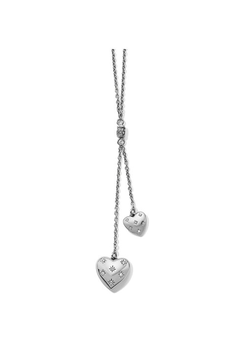 Brighton Stellar Heart Y Necklace