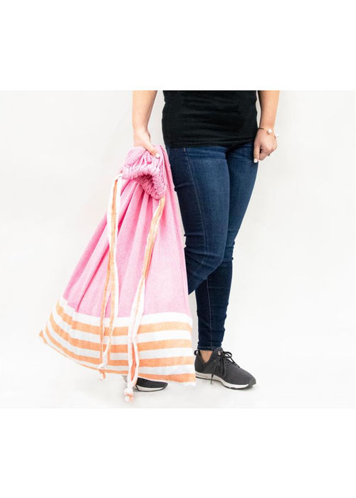 Big Stripe Laundry Bag