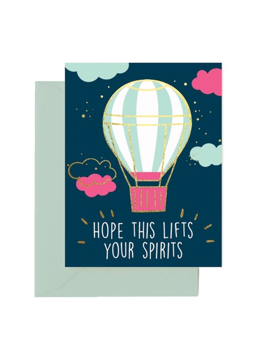 """Hope This Lifts Your Spirits"" Card"