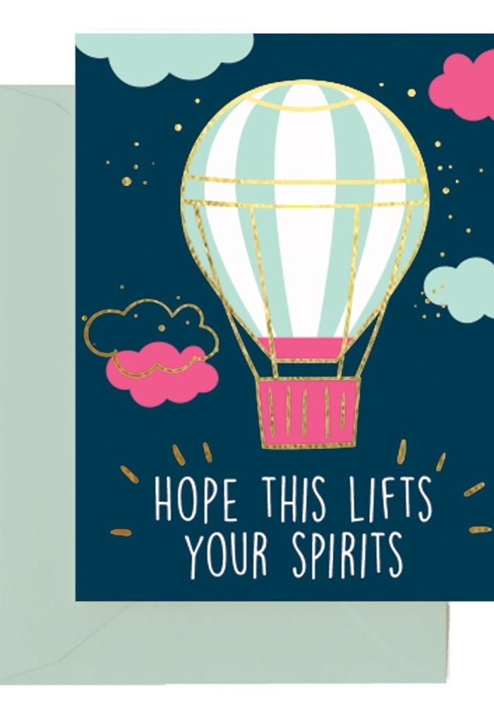 """""""Hope This Lifts Your Spirits"""" Card"""