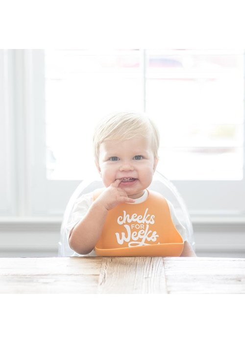 "Bella Tunno ""Cheeks For Weeks"" Wonder Bib"
