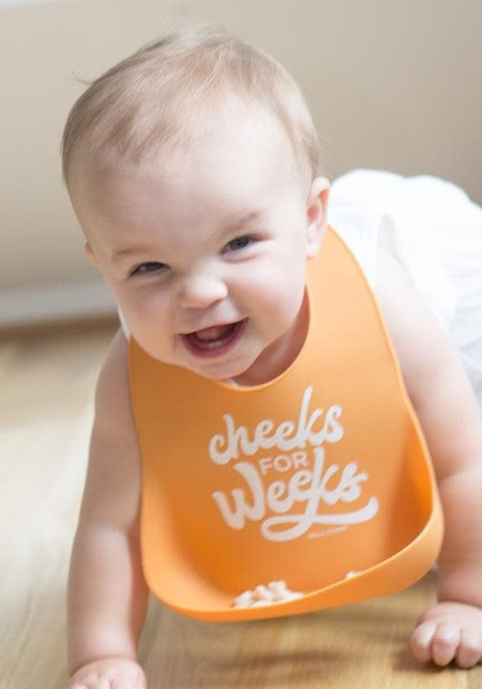 """Cheeks For Weeks"" Wonder Bib"