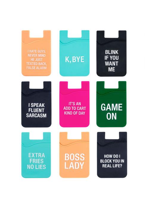 Sassy Silicone Phone Pocket