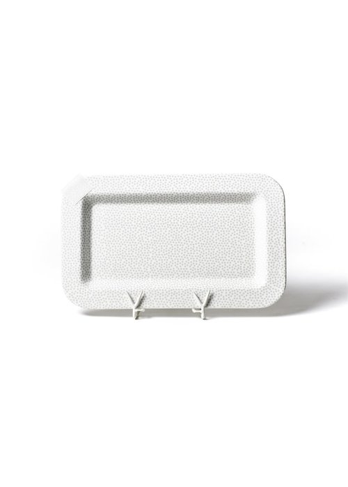 Happy Everything Stone Small Dot Mini Entertaining Platter