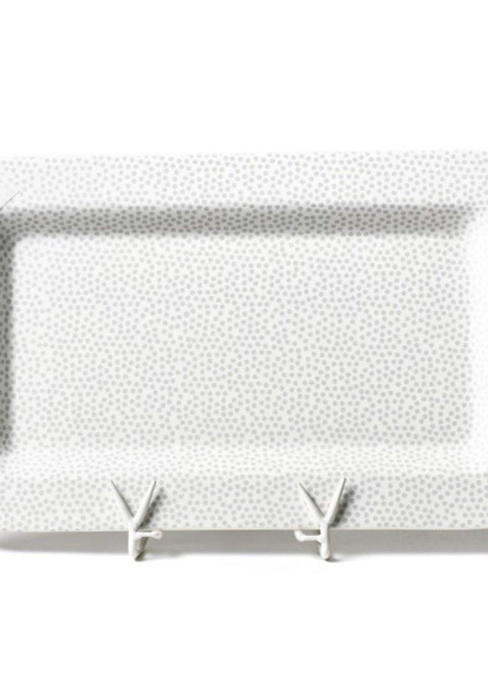 Stone Small Dot Mini Entertaining Platter