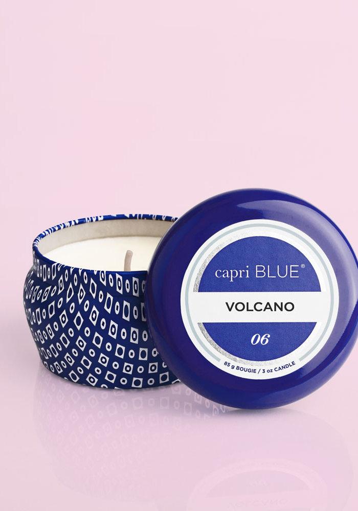 Volcano Capri Blue Printed Mini 3oz. Candle