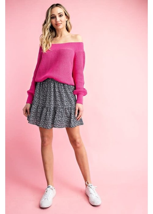 Mini Ruffle Ditzy Skirt
