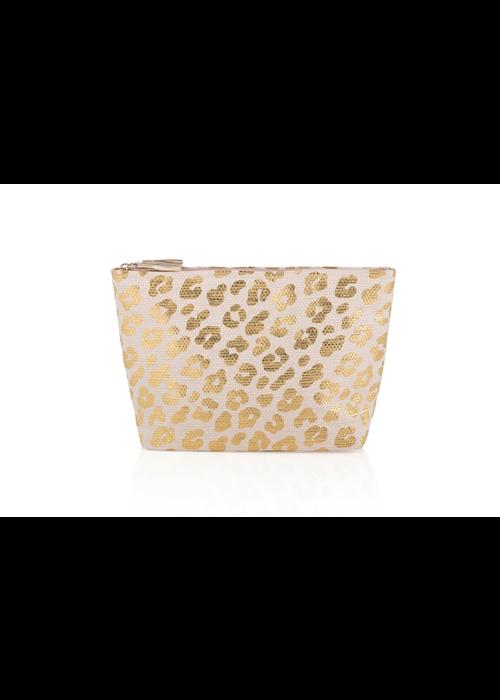 Ripley Blush Leopard Zip Pouch