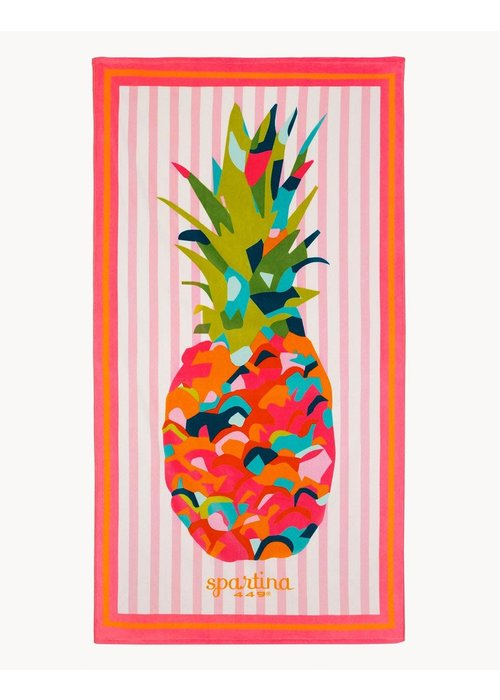 Spartina 449 Moreland Pineapple Oversized Beach Towel
