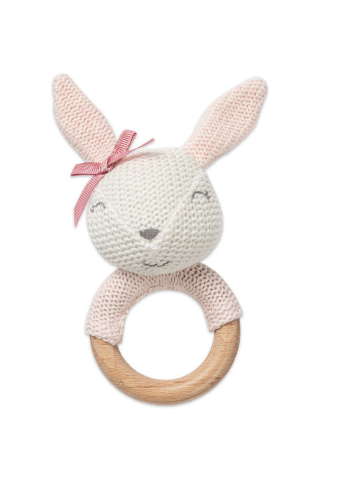 Bunny Teething Rattle