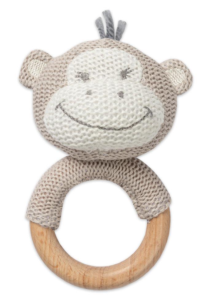 Monkey Teething Rattle