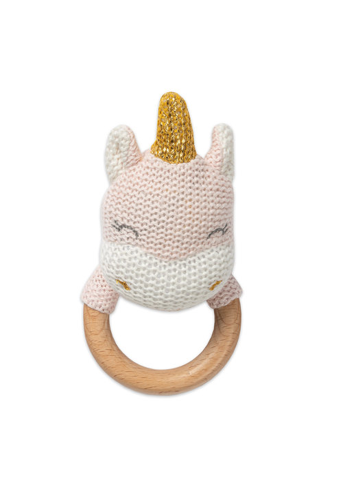 Unicorn Teething Rattle