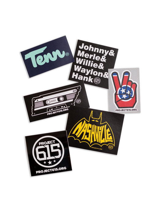 Project 615 Project 615 Stickers