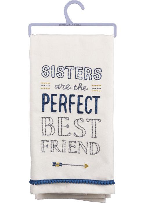 Sisters Dish Towel