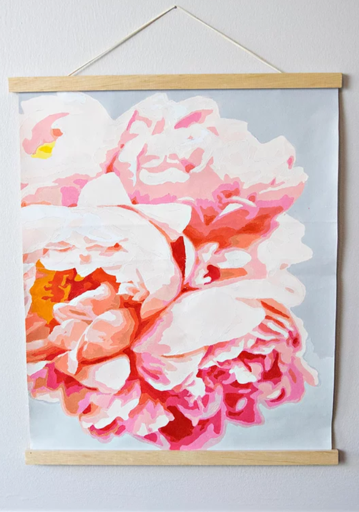 Perfect Petals Paint By Numbers Kit
